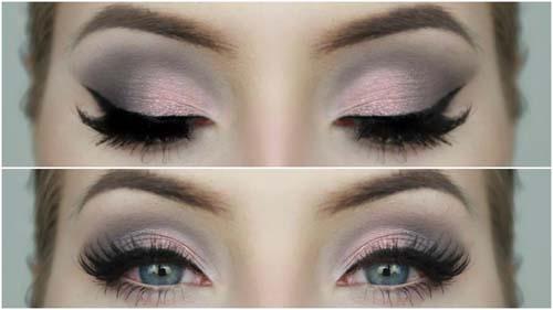 Ροζ μακιγιάζ ματιών (35)