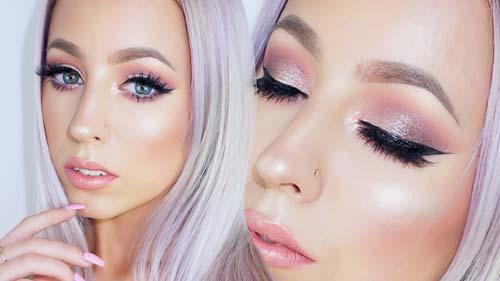 Ροζ μακιγιάζ ματιών (36)