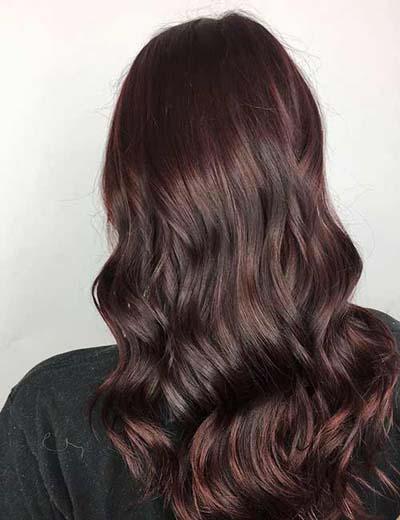 Deep Auburn Brown - Καστανοκόκκινη βαφή μαλλιών