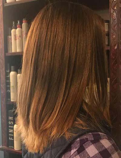 Tawny Brown - Μελαχρινά μαλλιά με μεσαία απόχρωση καστανού και ροδακινί υποτόνους