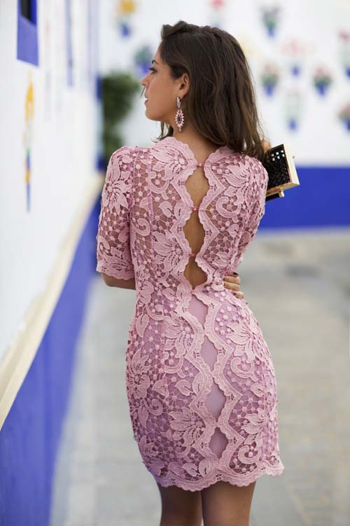 9ca086a3001a Δαντελένιο φόρεμα  Υπέροχοι συνδυασμοί για εντυπωσιακές εμφανίσεις ...