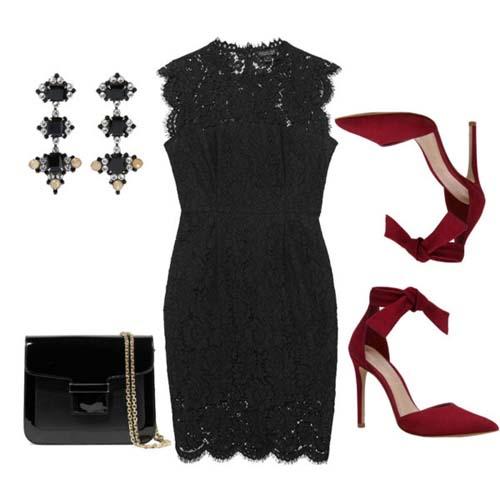 9e4a992d6781 Δαντελένιο φόρεμα  Υπέροχοι συνδυασμοί για εντυπωσιακές εμφανίσεις