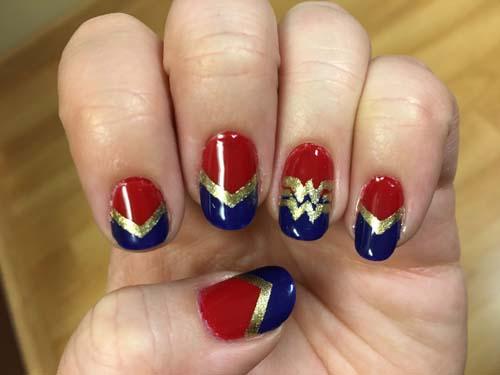 Αποκριάτικη μεταμφίεση Wonder Woman (5)