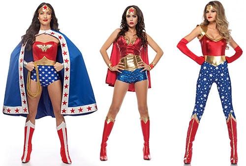Αποκριάτικη μεταμφίεση Wonder Woman (1)