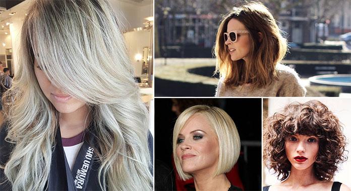 Γυναικεία κουρέματα 2018  Οι κορυφαίες επιλογές για κάθε μήκος μαλλιών dbfa938a6af