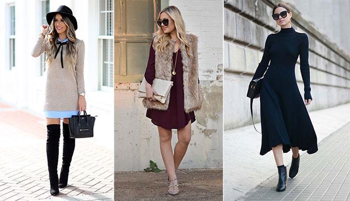 0fd6e4621108 Πως να φορέσετε ένα φόρεμα τον Χειμώνα - Beauté την Κυριακή