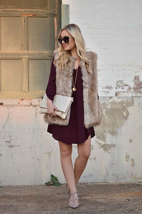 Πως να φορέσετε ένα φόρεμα τον Χειμώνα (8) 9854e7df3c5