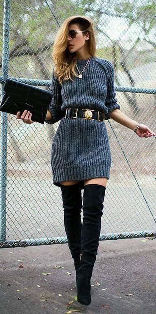 80257dbab683 Πως να φορέσετε ένα φόρεμα τον Χειμώνα - Beauté την Κυριακή