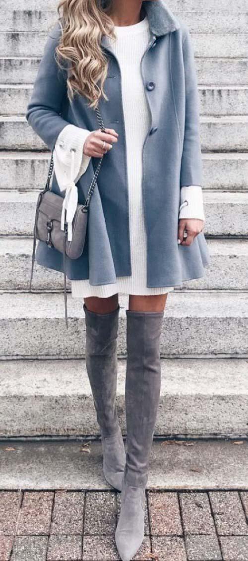 Πως να φορέσετε ένα φόρεμα τον Χειμώνα - Beauté την Κυριακή b25b3f7e0f3
