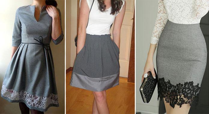 Πως να μακρύνω μια φούστα ή ένα φόρεμα; (1)