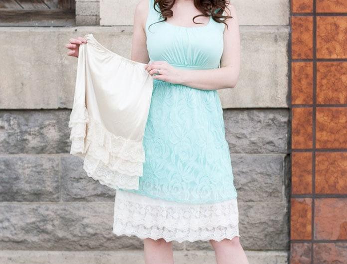 Πως να μακρύνω μια φούστα ή ένα φόρεμα; (2)