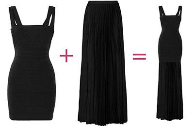 Πως να μακρύνω μια φούστα ή ένα φόρεμα; (3)