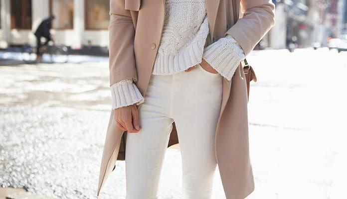 Τρόποι για να φορέσετε λευκό το Χειμώνα (1)