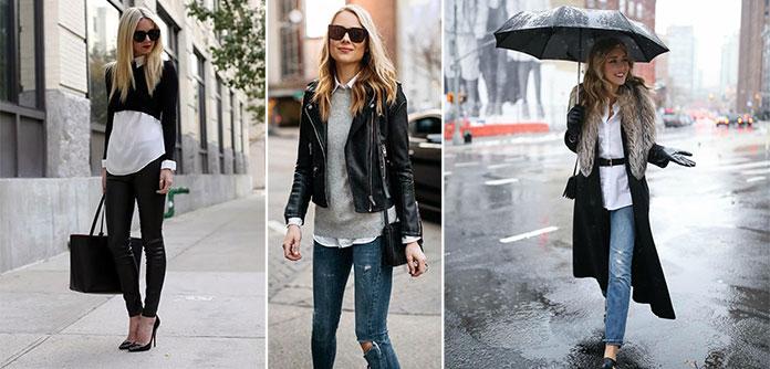 Τρόποι για να φορέσετε λευκό το Χειμώνα (2)