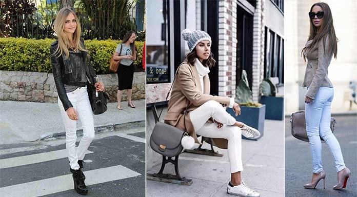 Τρόποι για να φορέσετε λευκό το Χειμώνα (4)