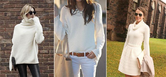 Τρόποι για να φορέσετε λευκό το Χειμώνα (6)