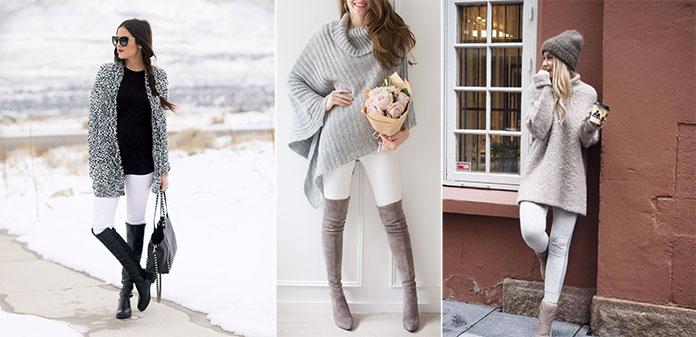 Τρόποι για να φορέσετε λευκό το Χειμώνα (7)
