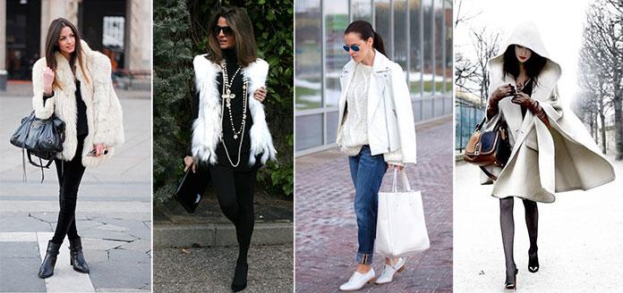 Τρόποι για να φορέσετε λευκό το Χειμώνα (9)