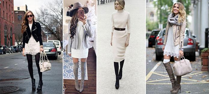 Τρόποι για να φορέσετε λευκό το Χειμώνα (13)