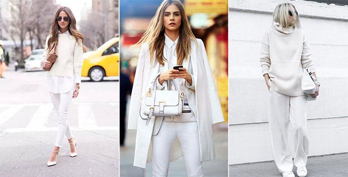 Τρόποι για να φορέσετε λευκό το Χειμώνα (15)