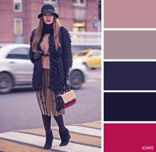 Χρωματικοί συνδυασμοί για χειμωνιάτικο ντύσιμο (7)