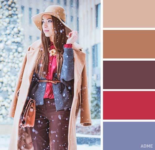 Χρωματικοί συνδυασμοί για χειμωνιάτικο ντύσιμο (3)