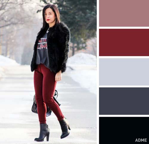 Χρωματικοί συνδυασμοί για χειμωνιάτικο ντύσιμο (9)