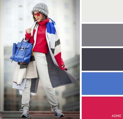 Χρωματικοί συνδυασμοί για χειμωνιάτικο ντύσιμο (15)