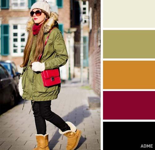 Χρωματικοί συνδυασμοί για χειμωνιάτικο ντύσιμο (10)