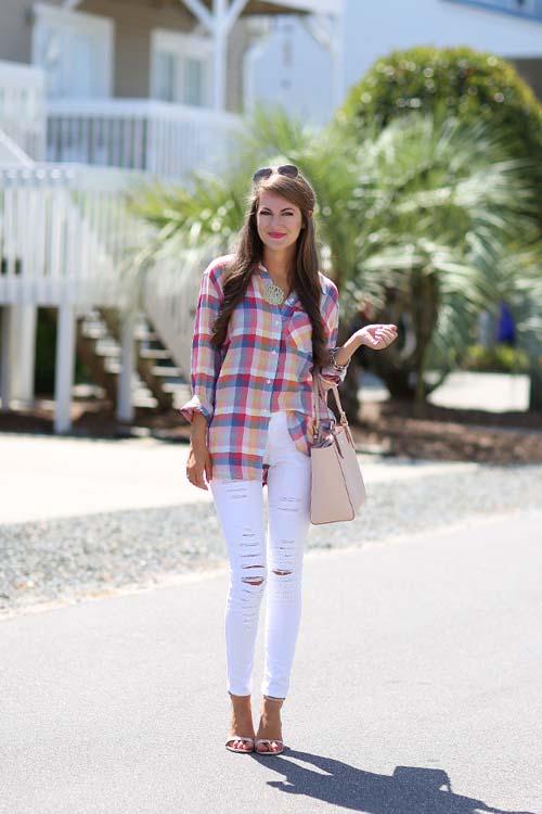 ff7fb2d2e4 Καρό πουκάμισο  40 υπέροχοι συνδυασμοί και πως να το φορέσετε
