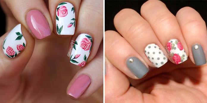 Floral nails (2)