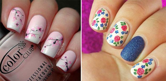 Floral nails (3)