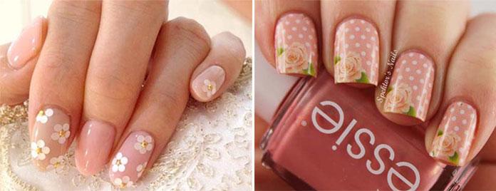 Floral nails (4)