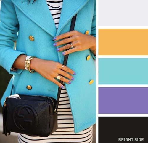 Συνδυασμοί χρωμάτων στα ρούχα για την Άνοιξη (2)
