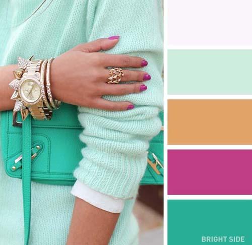 Συνδυασμοί χρωμάτων στα ρούχα για την Άνοιξη (3)