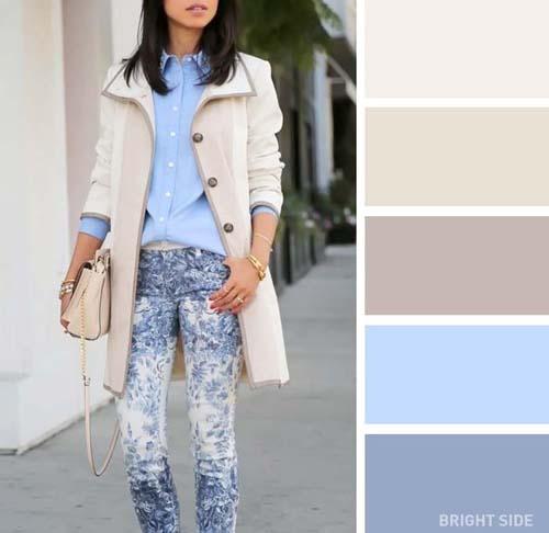 Συνδυασμοί χρωμάτων στα ρούχα για την Άνοιξη (4)