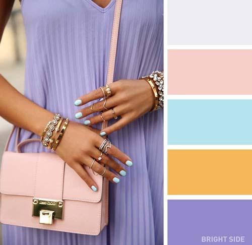 Συνδυασμοί χρωμάτων στα ρούχα για την Άνοιξη (8)