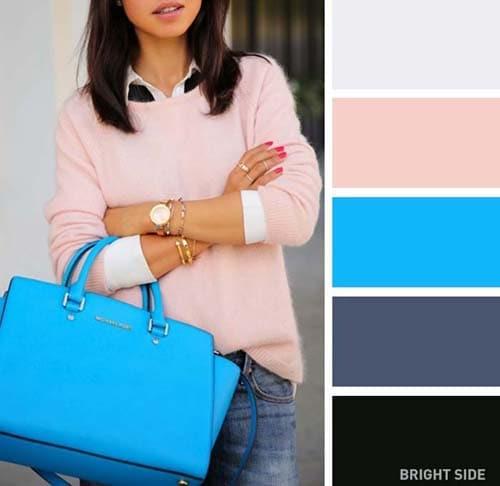 Συνδυασμοί χρωμάτων στα ρούχα για την Άνοιξη (9)