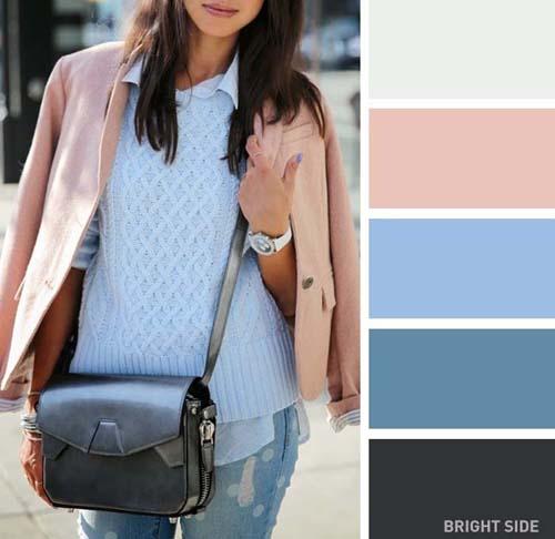 Συνδυασμοί χρωμάτων στα ρούχα για την Άνοιξη (10)