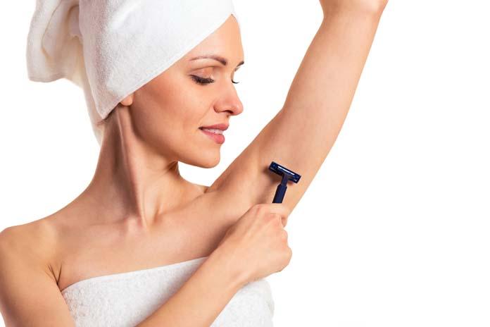 Ξύρισμα μασχάλης (2)