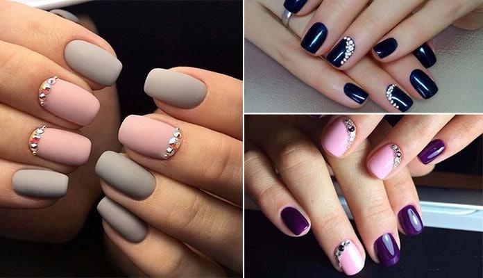 Νύχια με στρας (1)