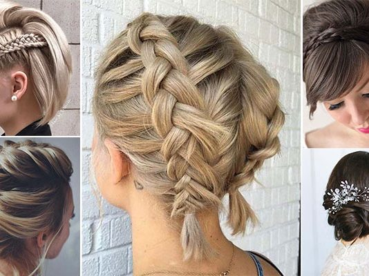 Χτενίσματα για κοντά μαλλιά
