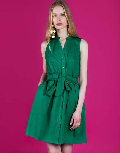 9ca5de8133bd Προτάσεις για σμαραγδί φόρεμα και πως να το συνδυάσετε