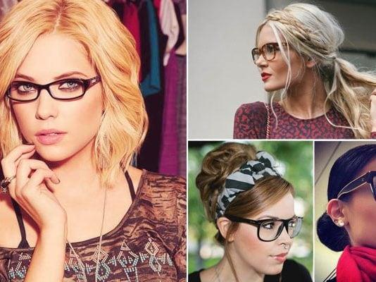 Χτενίσματα για γυναίκες με γυαλιά