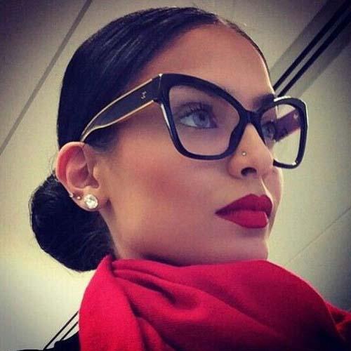 Χτενίσματα για γυναίκες με γυαλιά (7)