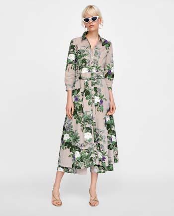 5a5ee1dc80a 25+1 προτάσεις για εντυπωσιακά φλοράλ φορέματα | eirinika.gr