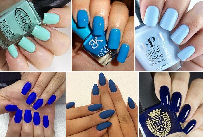 Μπλε νύχια (50)