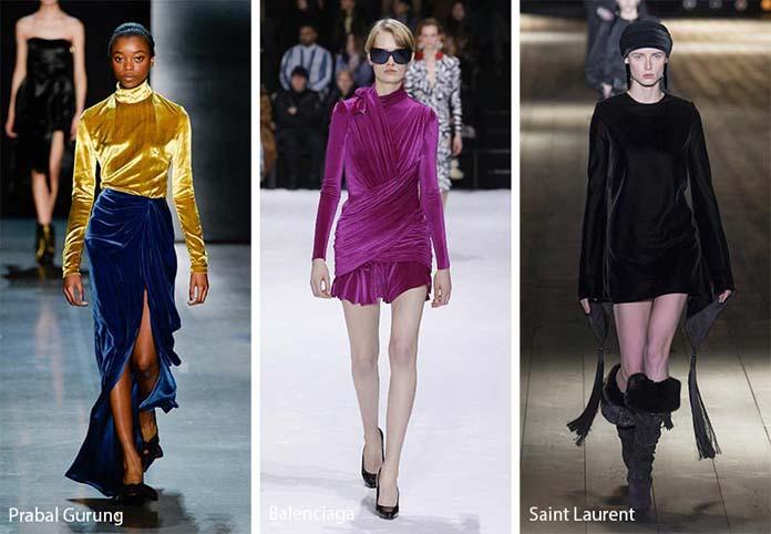 23518256be8a Βελούδο. Οι κορυφαίες τάσεις της μόδας για το Φθινόπωρο   Χειμώνα 2018 -  2019 (13)