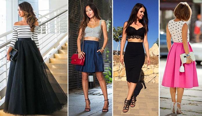 9bec1aaab473 50 εντυπωσιακοί συνδυασμοί με ψηλόμεση φούστα - Beauté την Κυριακή