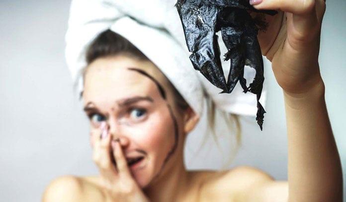 Μαύρη μάσκα προσώπου για μαύρα στίγματα (4)